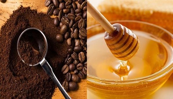 Cà phê pha với mật ong